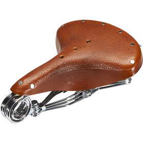 Brooks B33 Unique Saddle Made Of Corn Leather honey